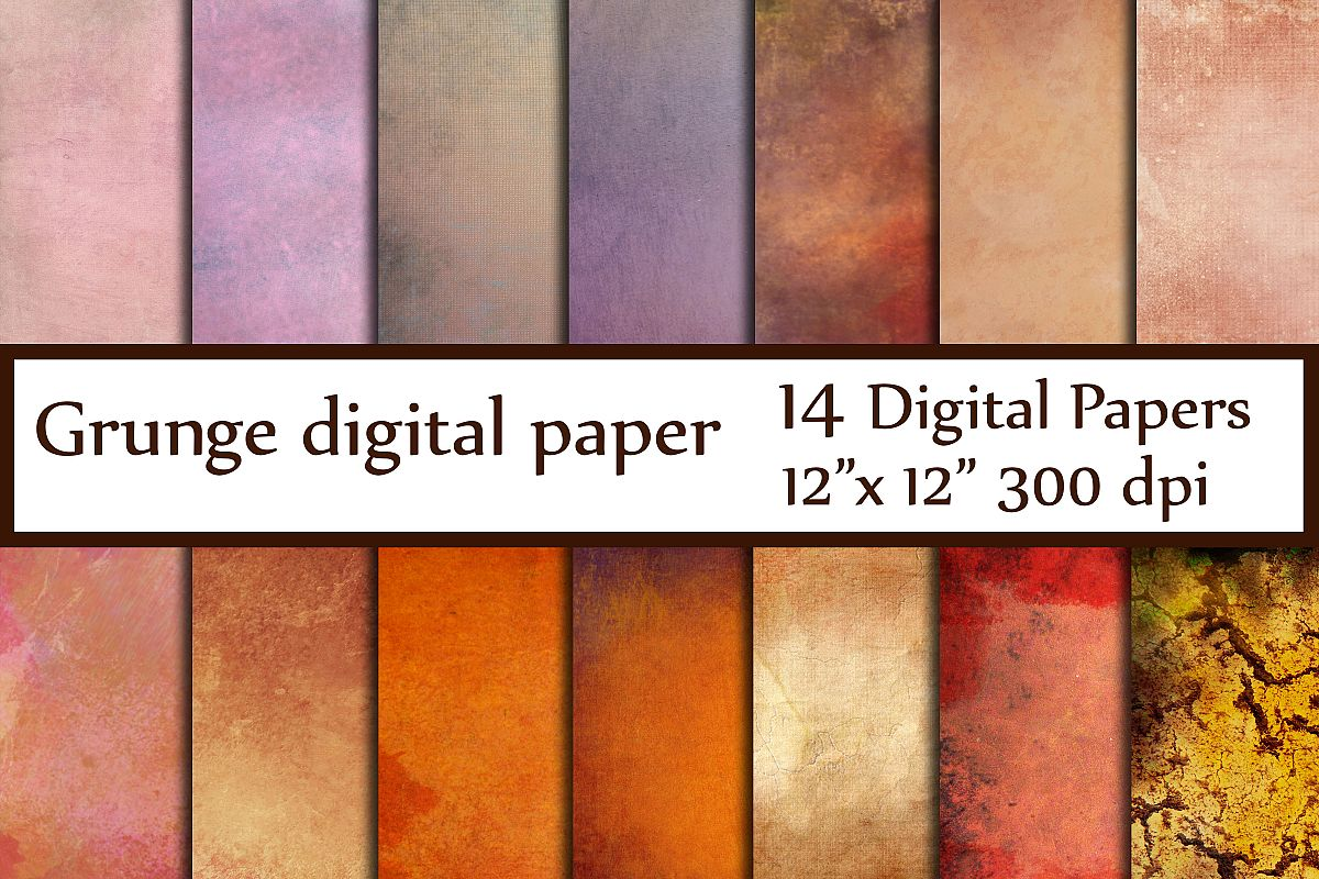 Grunge texture Paper example image