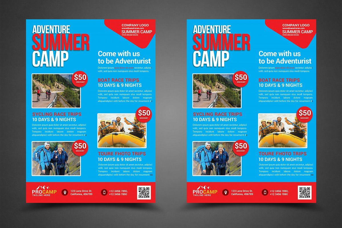 Adventure summer camp flyer template by design bundles adventure summer camp flyer template example image saigontimesfo