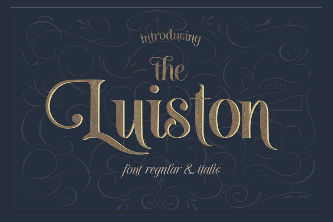 The Luiston San Serif example image