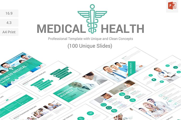 Medical and health powerpoint presentat design bundles viewing product medical and health powerpoint presentation template toneelgroepblik Image collections