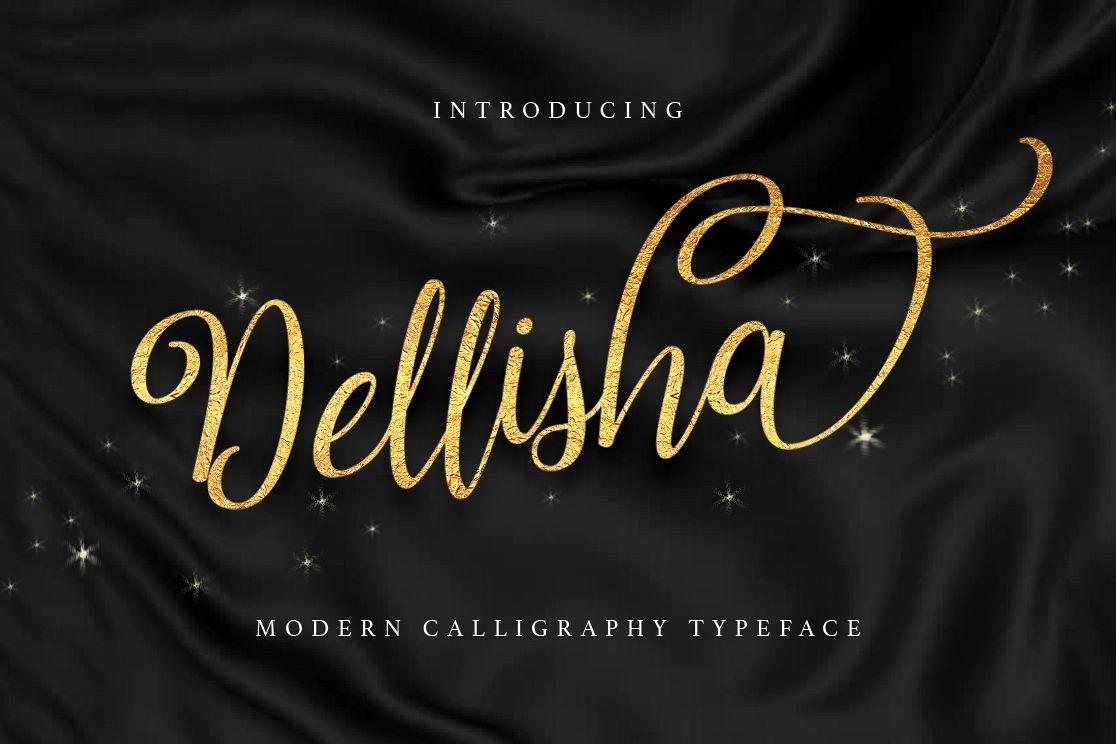Dellisha Script example image