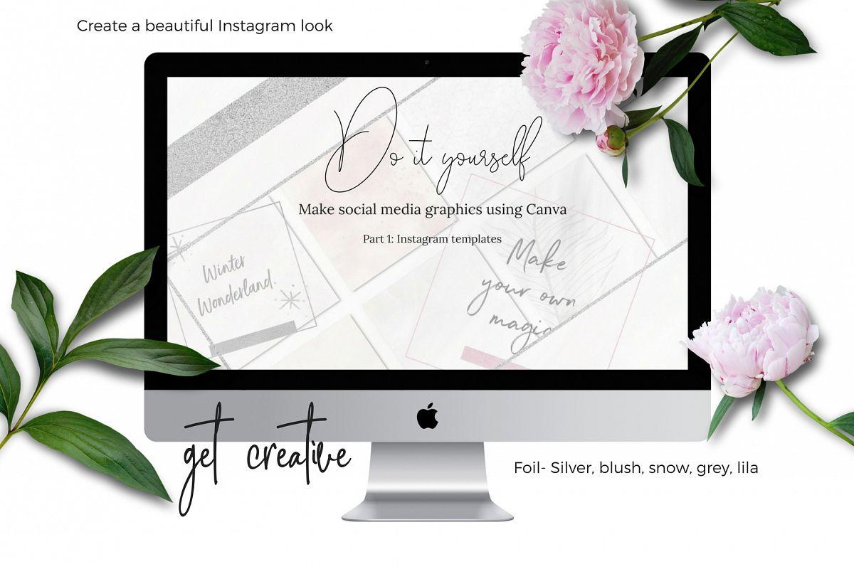 DIY Instagram graphics using Canva example image