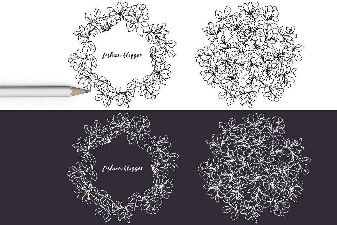 12 Floral design elements/ Pro example image 8