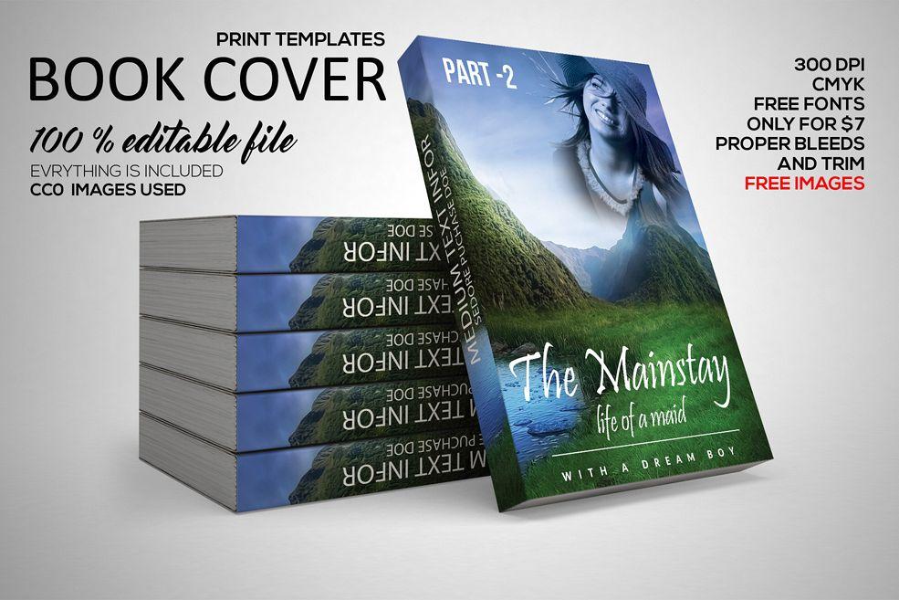 Story Book Cover Template by Designhub7 | Design Bundles