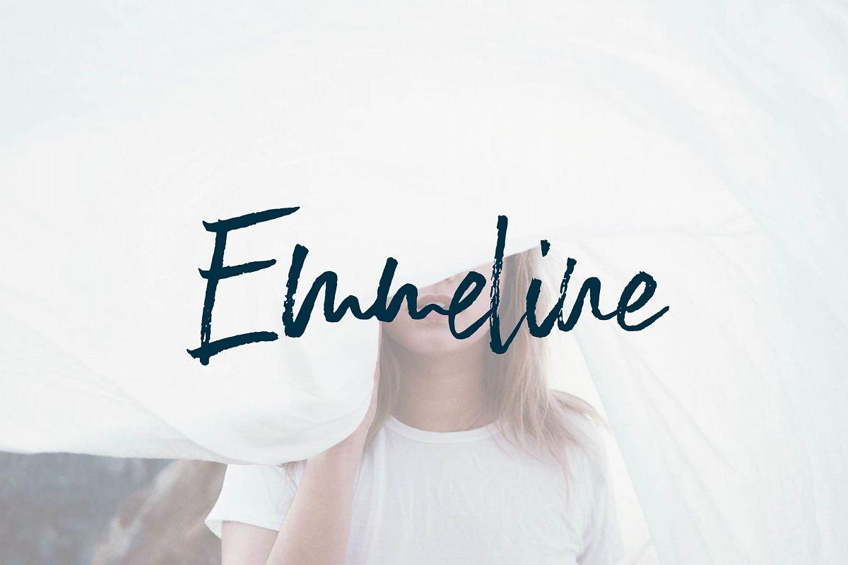 Emmeline Font example image
