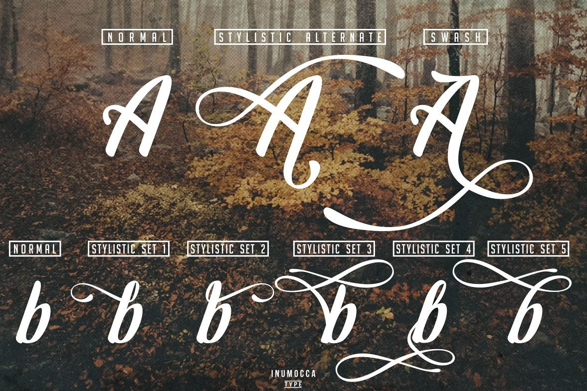Early Morning Typeface example image 9
