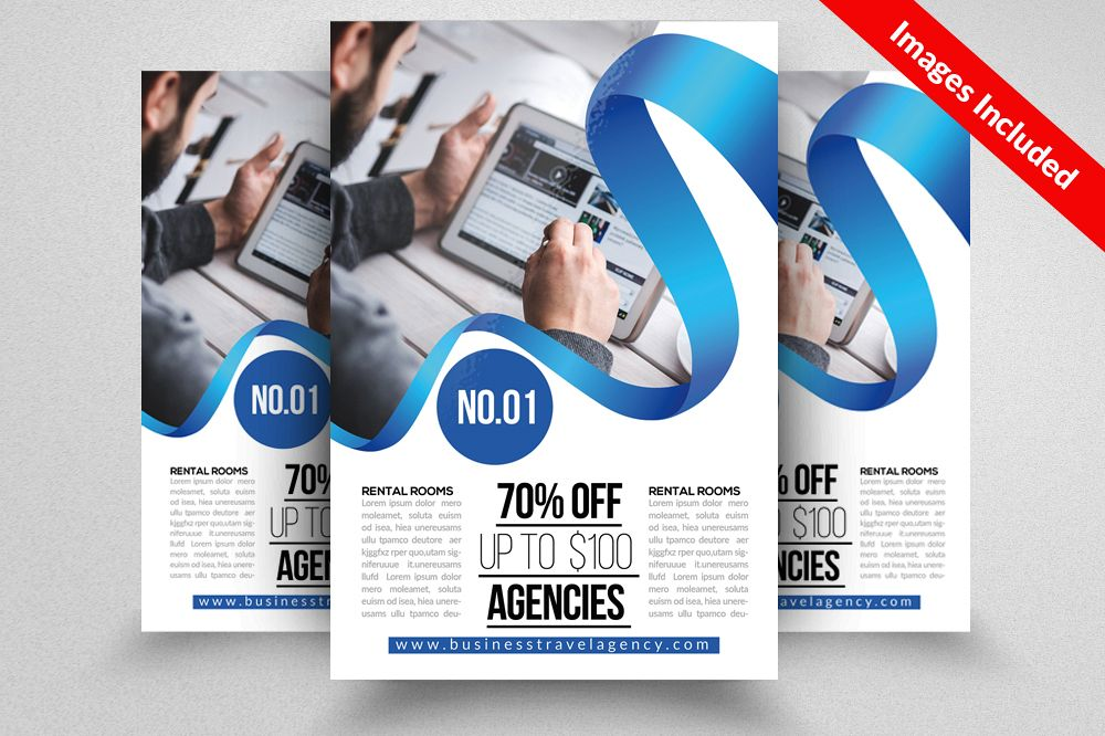 Business Training Flyers Template By De Design Bundles