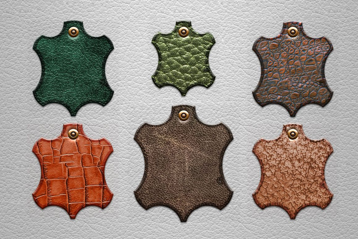 Leather Layer Styles For Photoshop example image 3