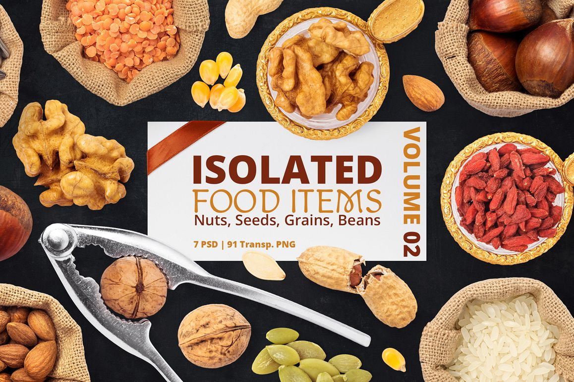 Isolated Food Items Vol.2 example image