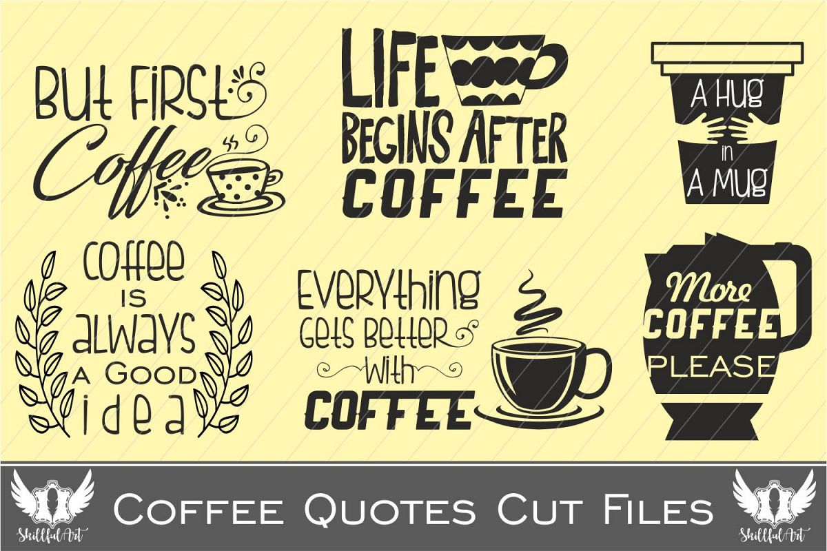 coffee svg, VOL1, but first coffee svg, | Design Bundles