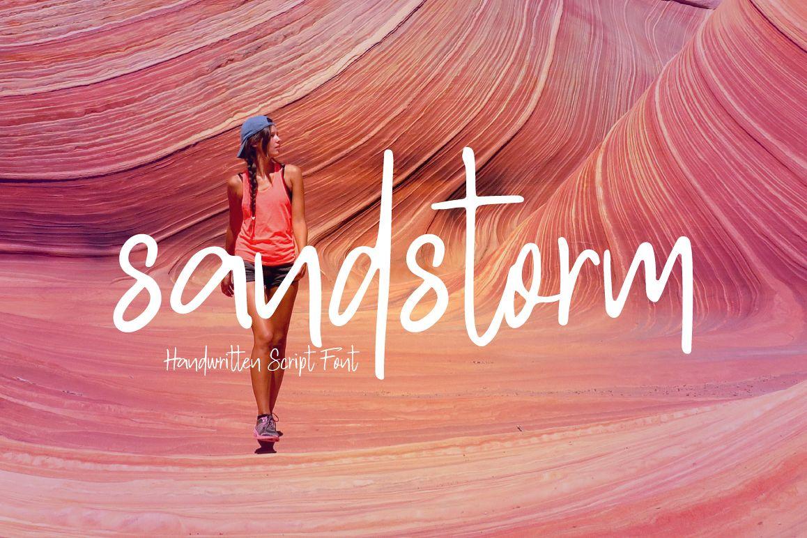 sandstorm example image