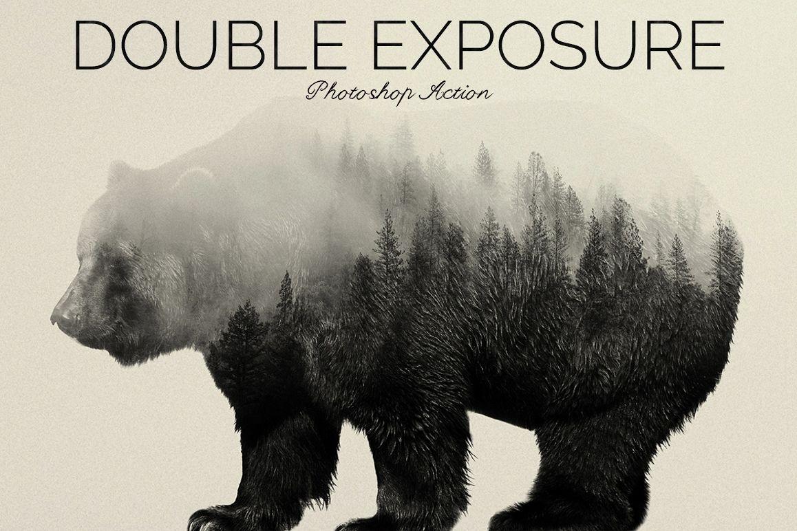 Double Exposure Photoshop Action example image 5