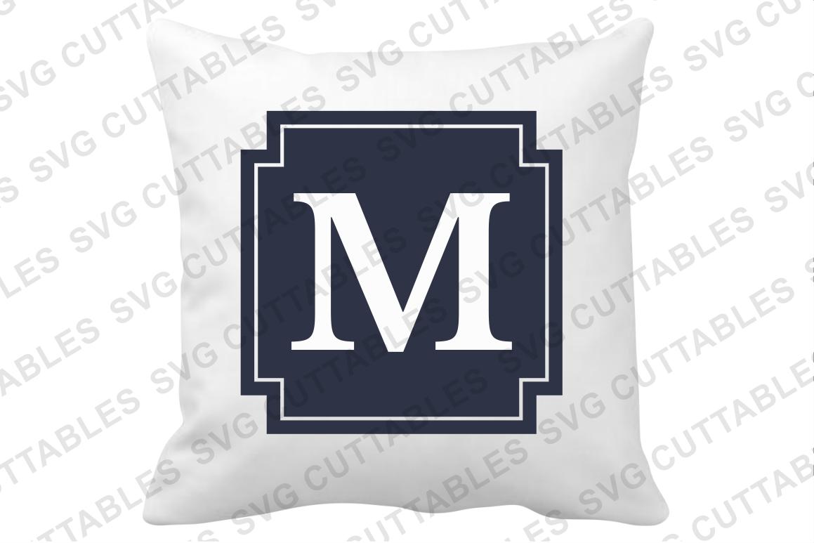 Monogram Frames set of 14 example image 3