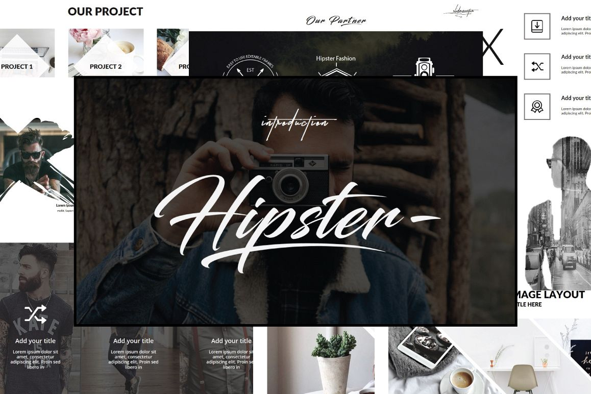 Hipster v2 powerpoint template by ones design bundles hipster v2 powerpoint template example image toneelgroepblik Image collections