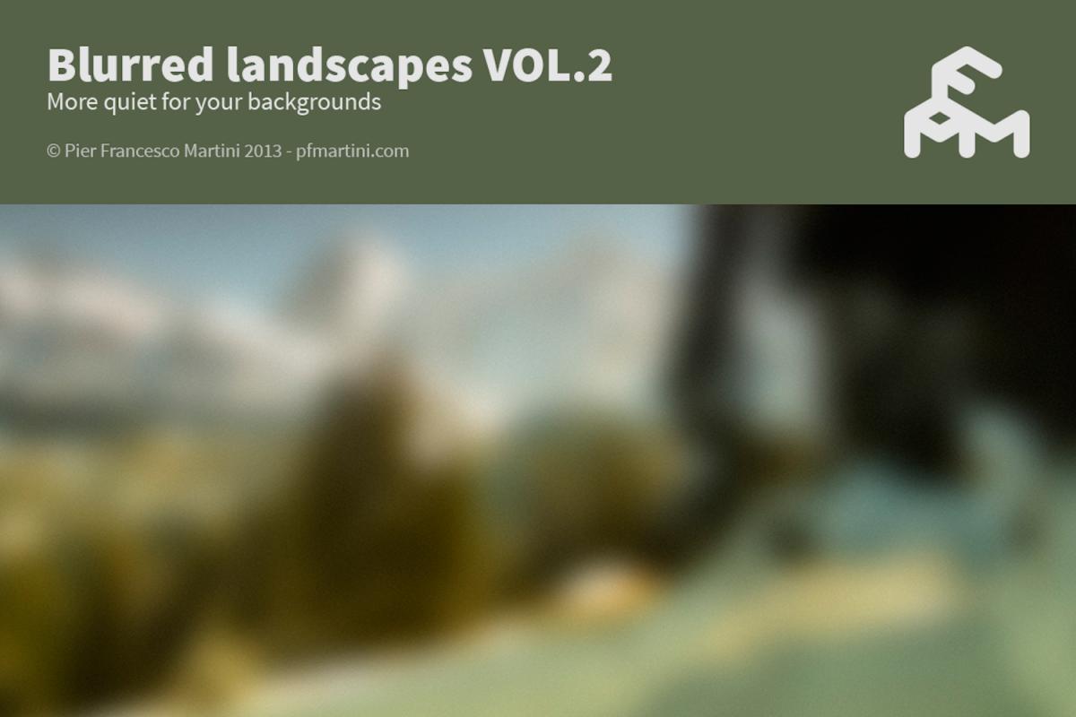 50 Blurred landscapes VOL.2 example image