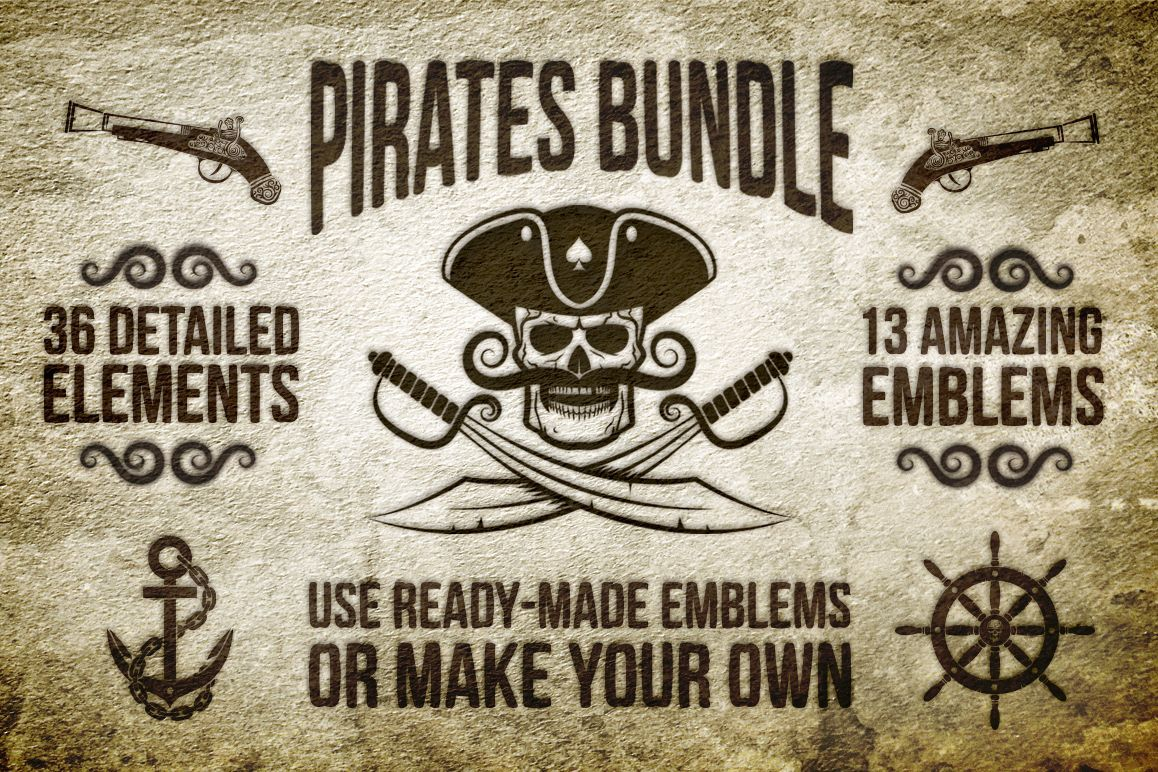 Pirate Bundle example image