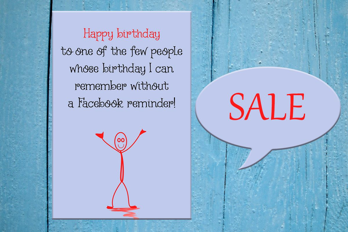 Funny Happy Birthday Card Greeting Car Design Bundles