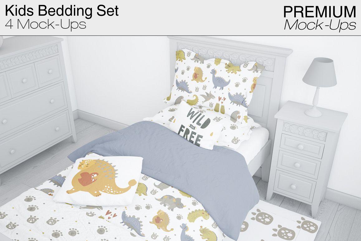 Kids Bedding Set Example Image