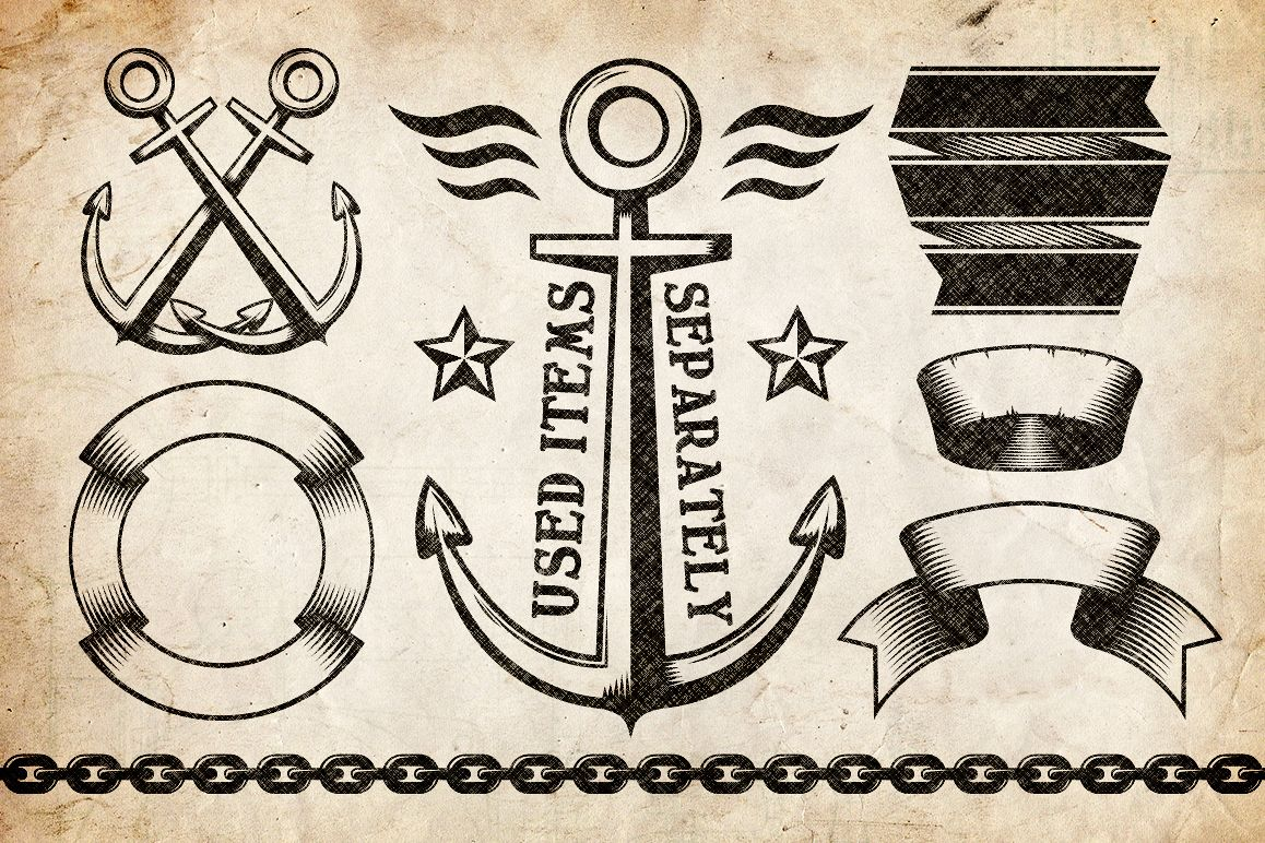 Marine Anchor Logos example image 2