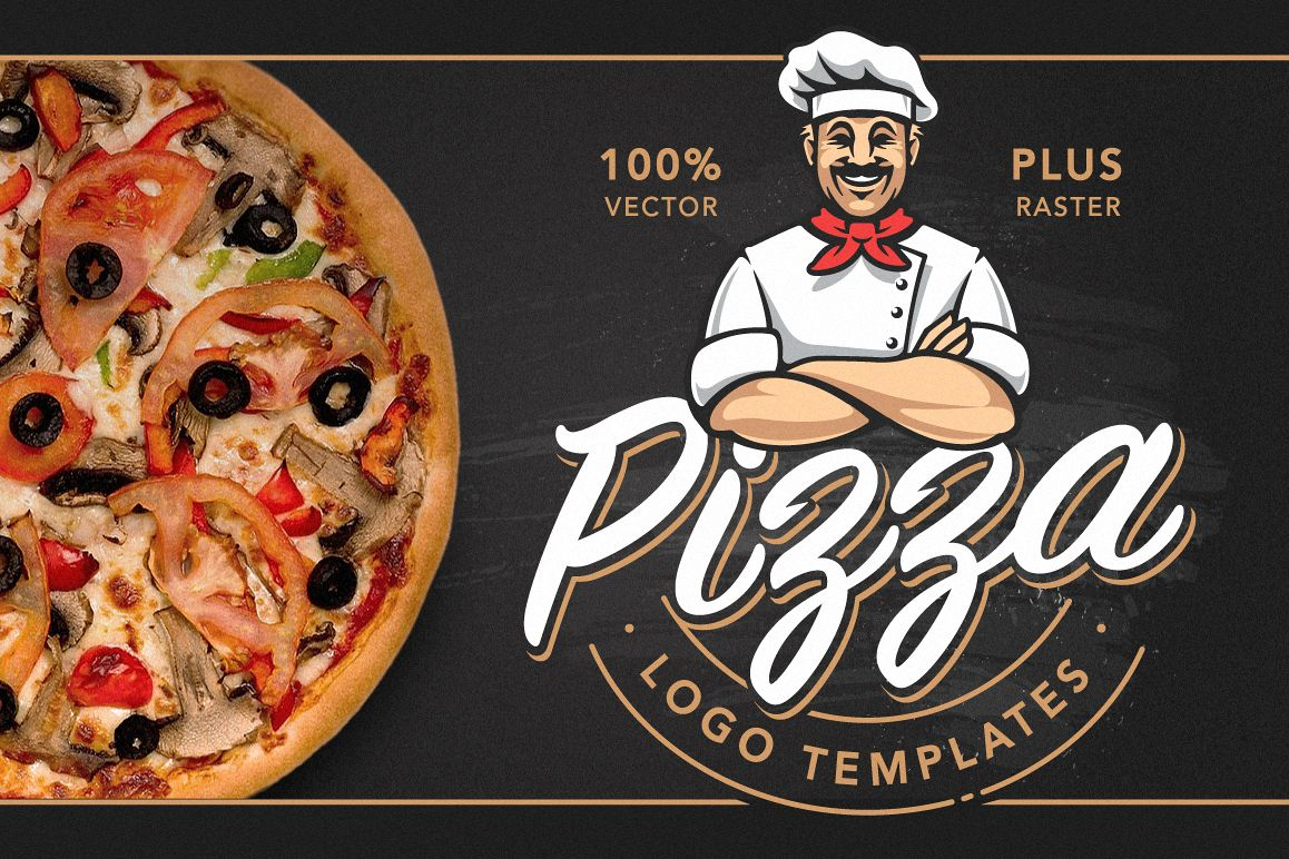 Pizza Logo Templates example image