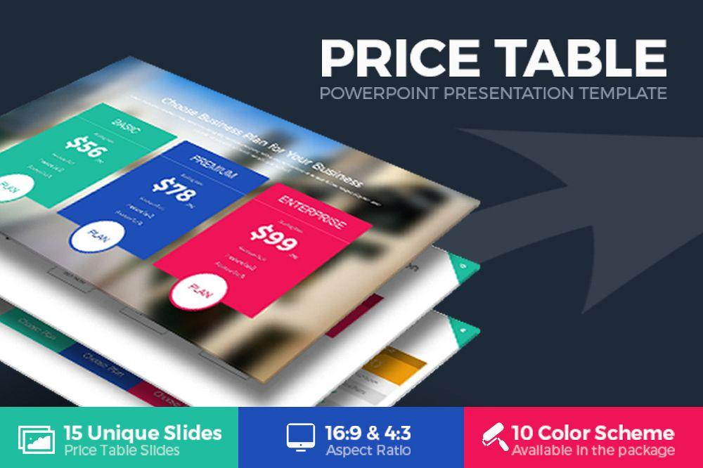 Price table powerpoint template by rrgr design bundles price table powerpoint template example image toneelgroepblik Images