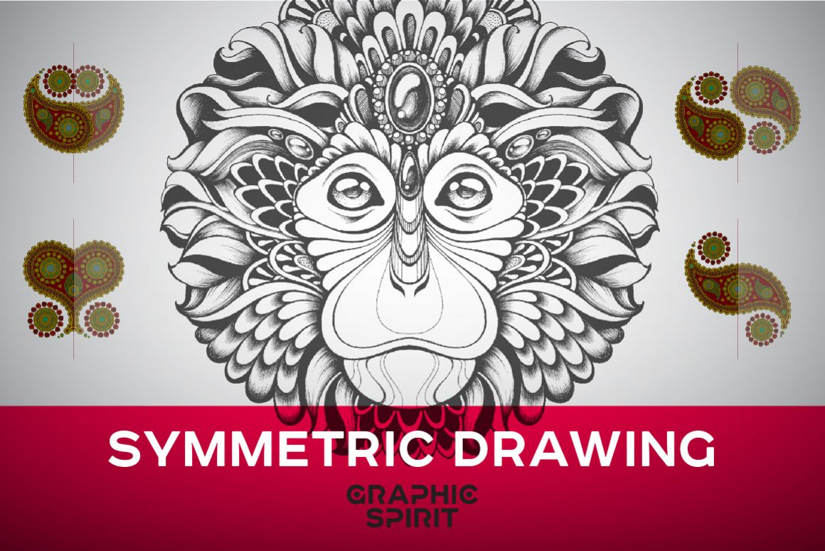 Symmetric Drawing Ai Templates example image