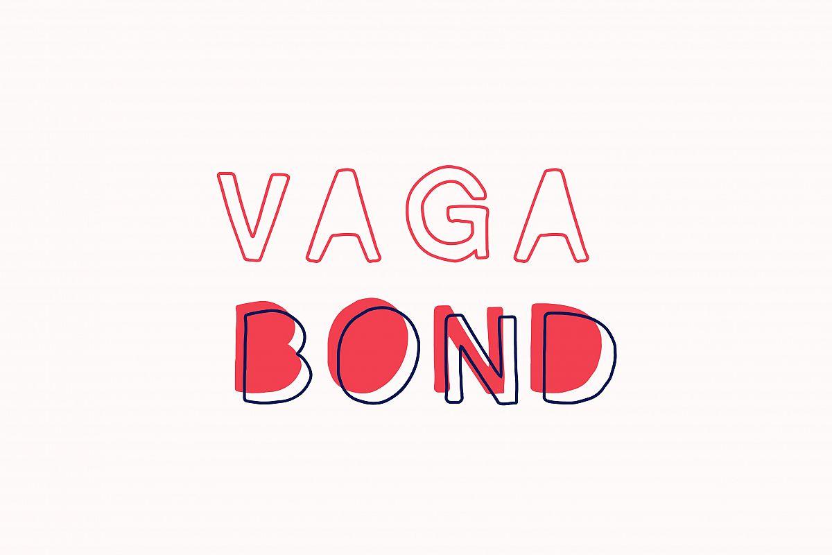 Vagabond Font Set example image