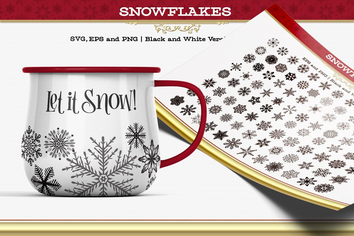 Snowflakes example image