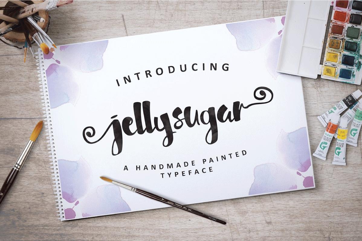 Jellysugar Typeface example image