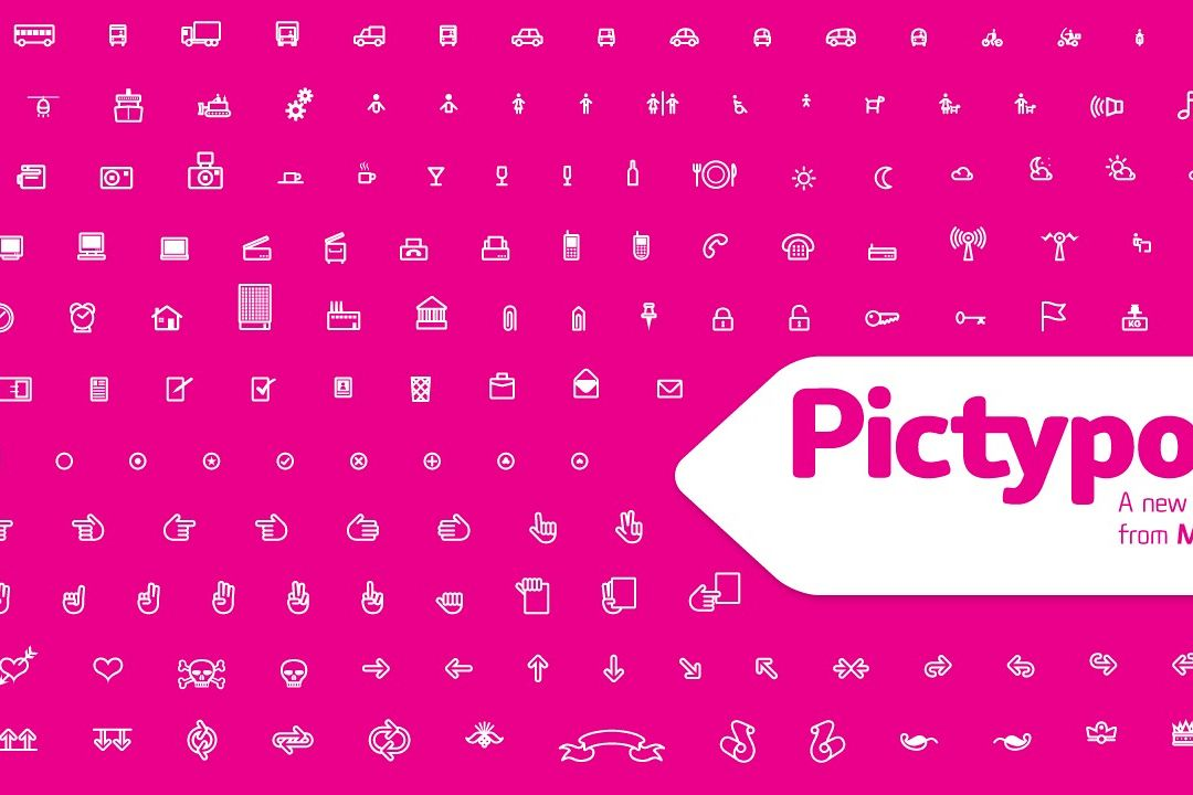 Pictypo typeface cover page
