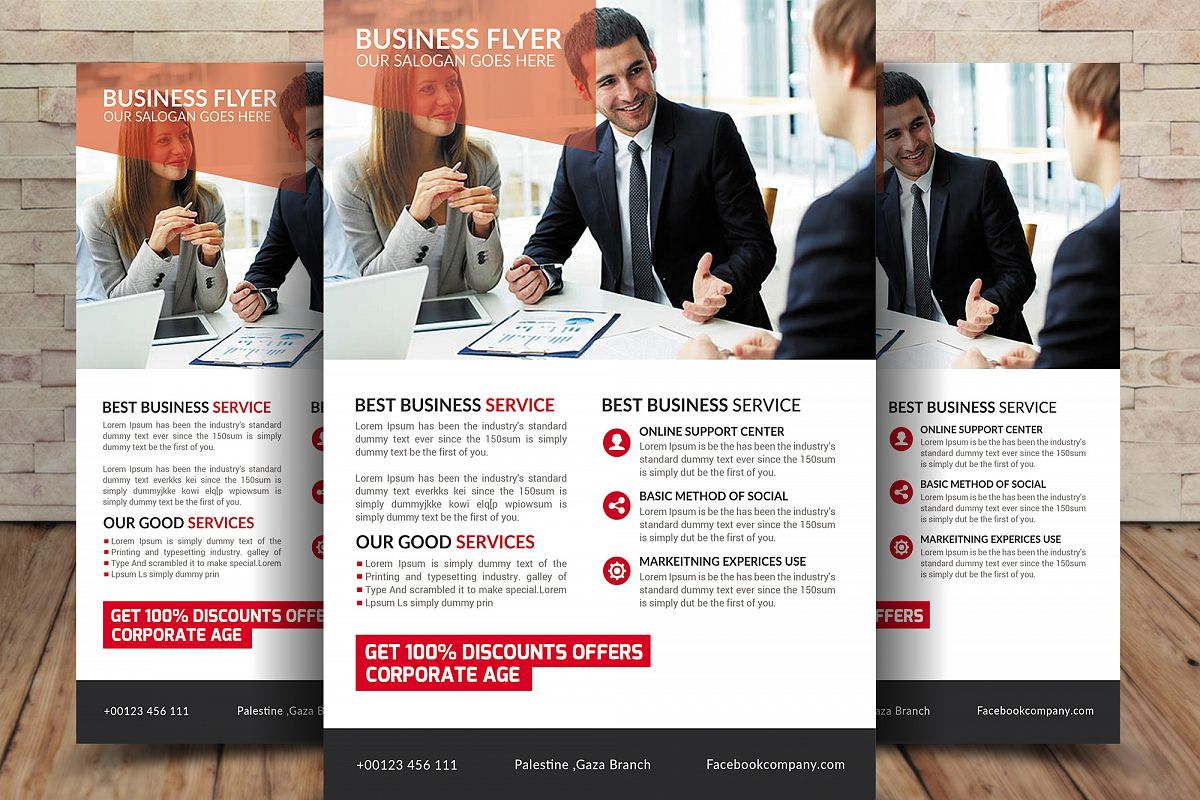 professional business flyer