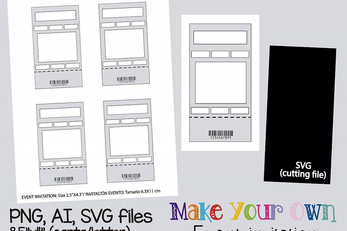 ticket sheet template