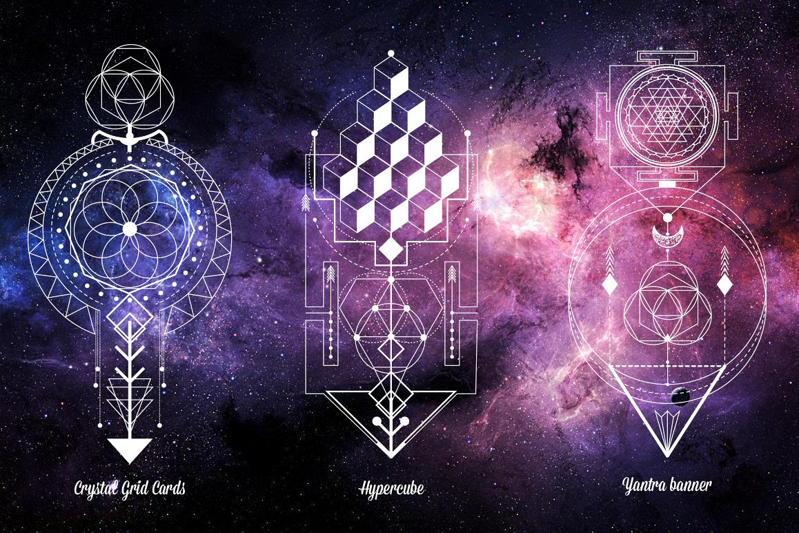 Sacred Geometry. Magic totem vol.2 example image 3