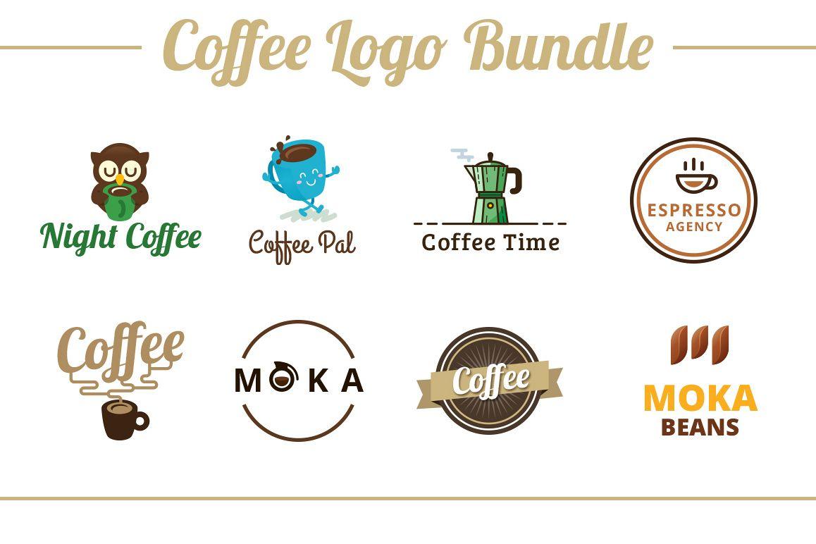 Coffee Logo Template Bundle example image