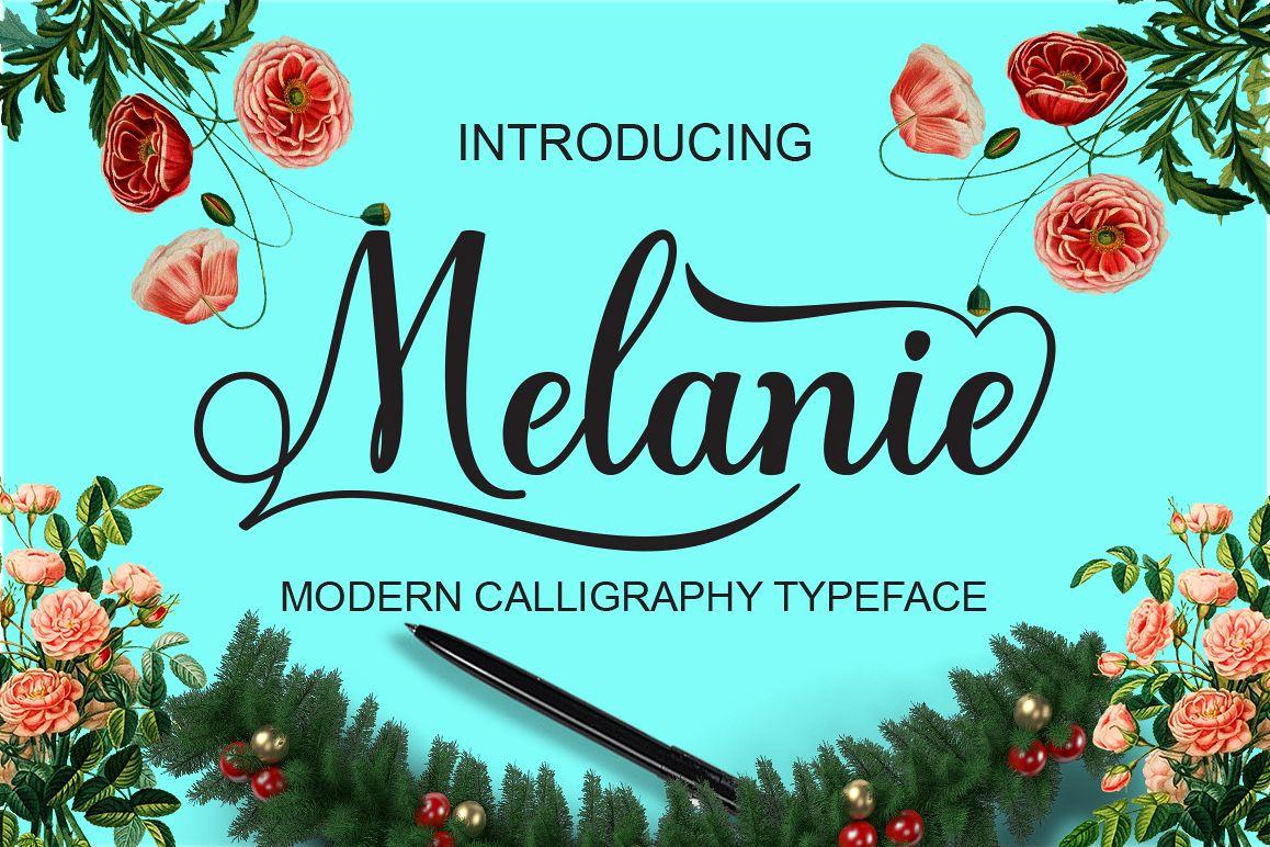 Melanie example image