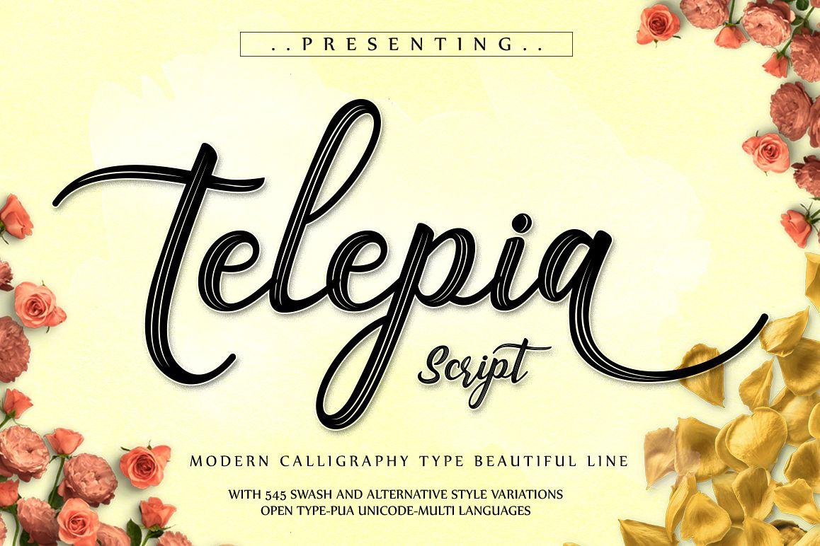 Telepia Script example image