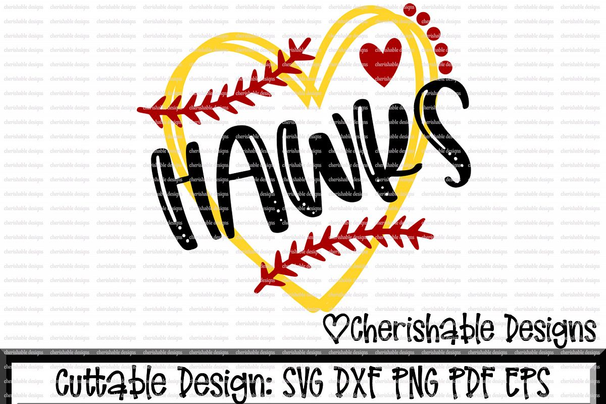 Baseball Svg, Softball Svg, Hawks Softb | Design Bundles