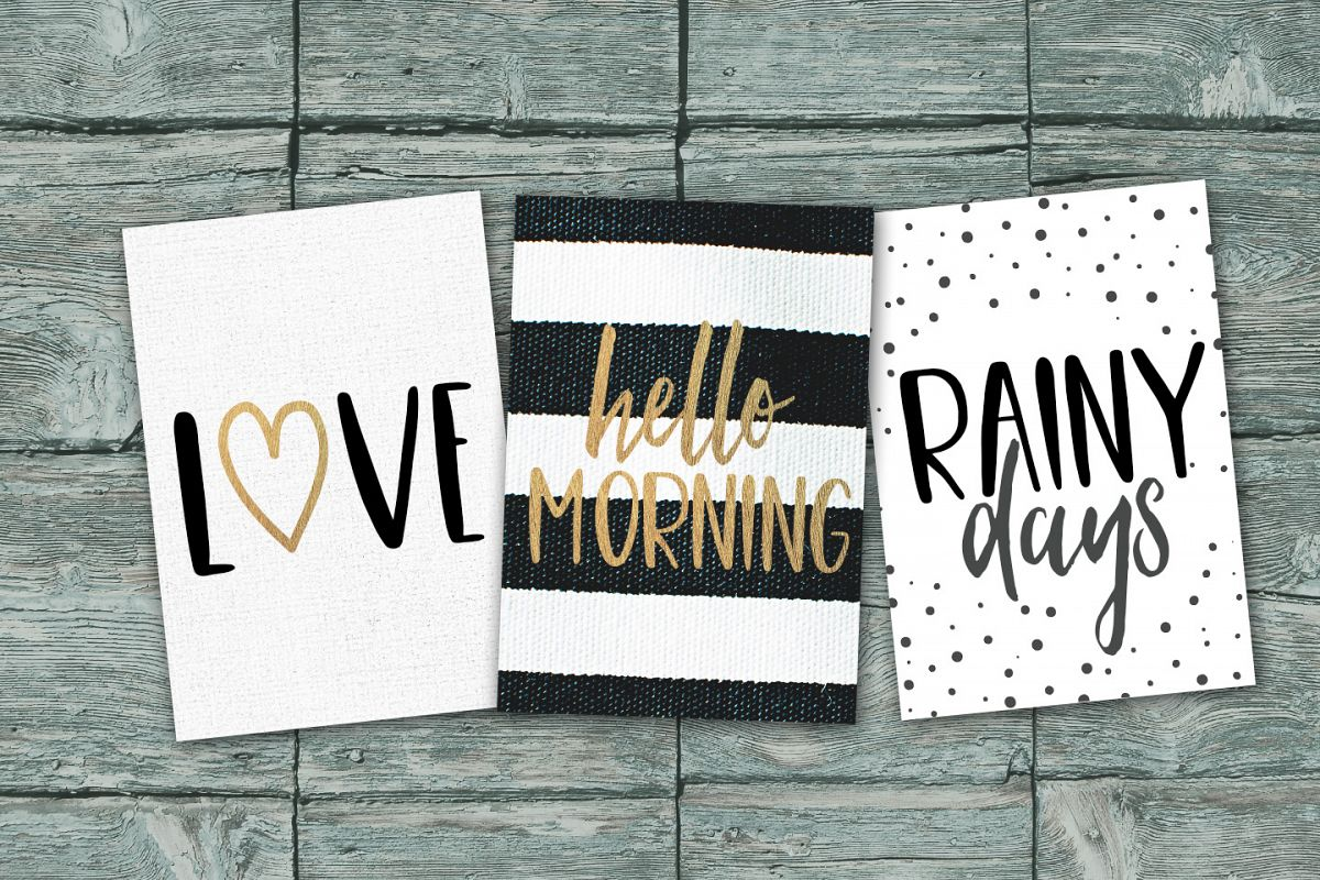 Cute, Casual, Handwritten font COOKIES example image 2
