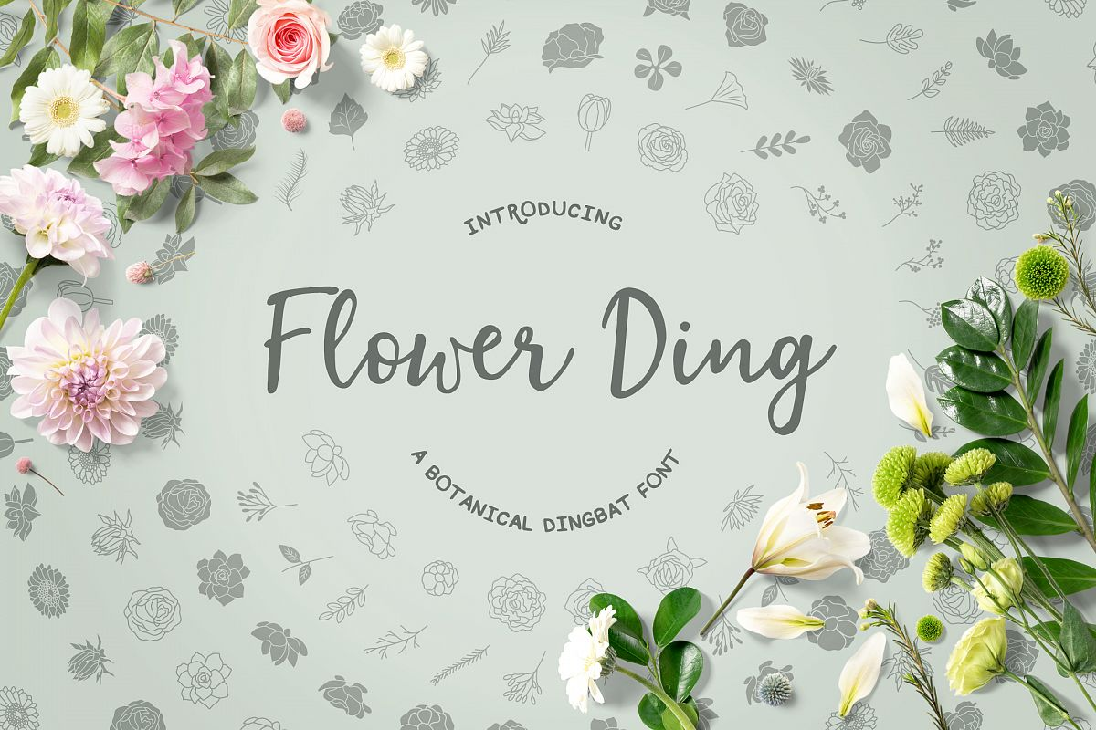 Flower Ding example image