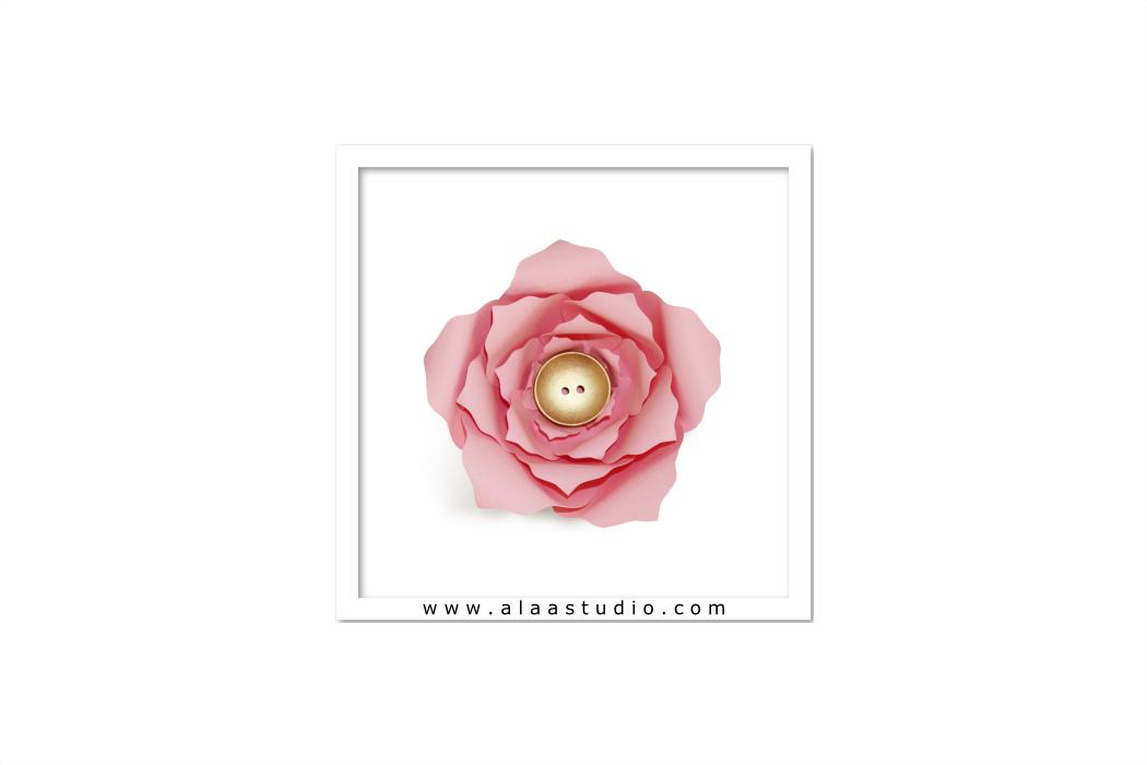 3D Large flower template 4, SVG, PDF, S | Design Bundles