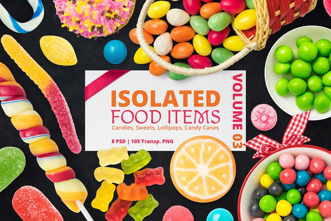 Isolated Food Items Vol.3 example image