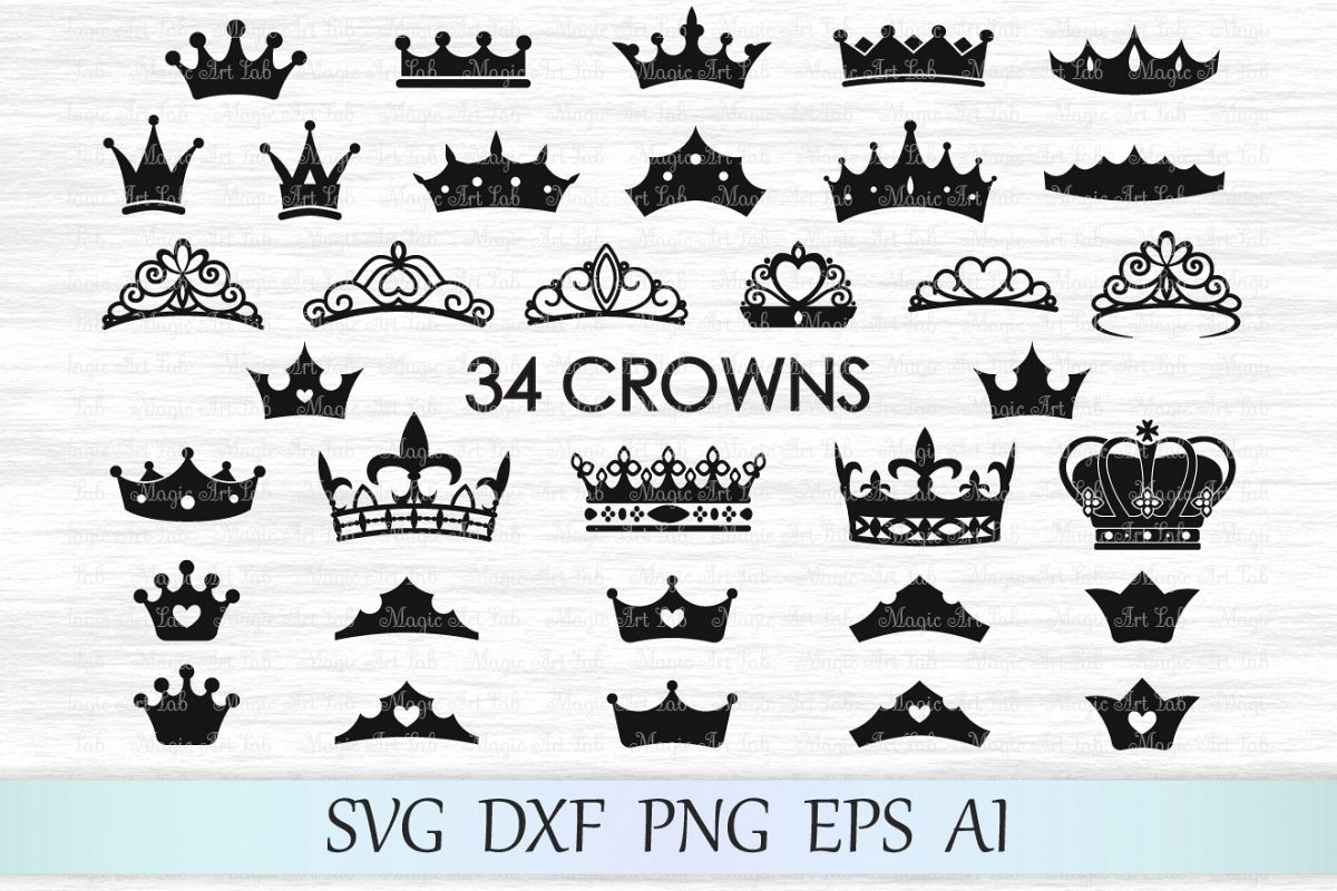 Her King Svg His Queen Svg King And Queen Svg Svg Design: Crown Svg, Crown Svg File, Crowns Svg,