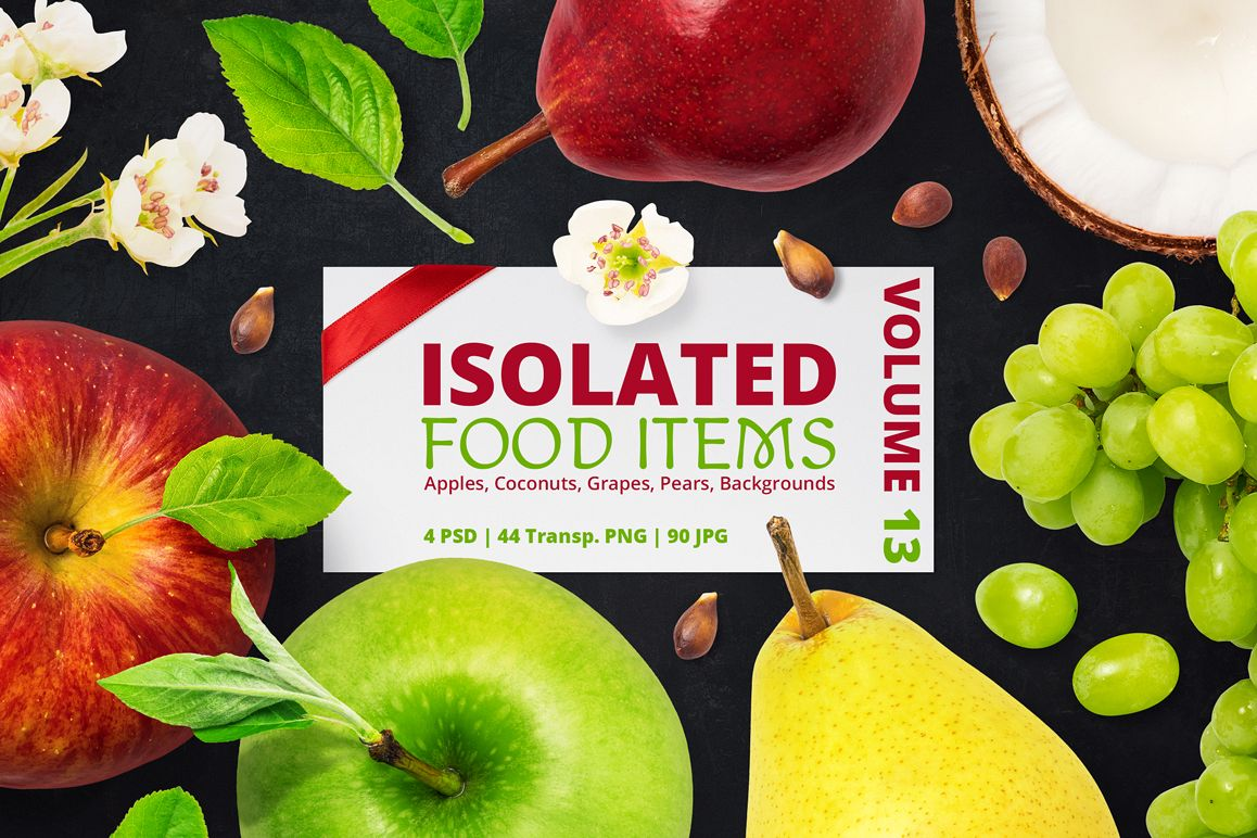 Isolated Food Items Vol.13 example image