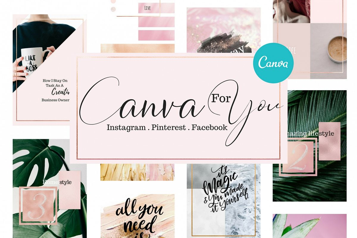 Canva for you - Social media example image