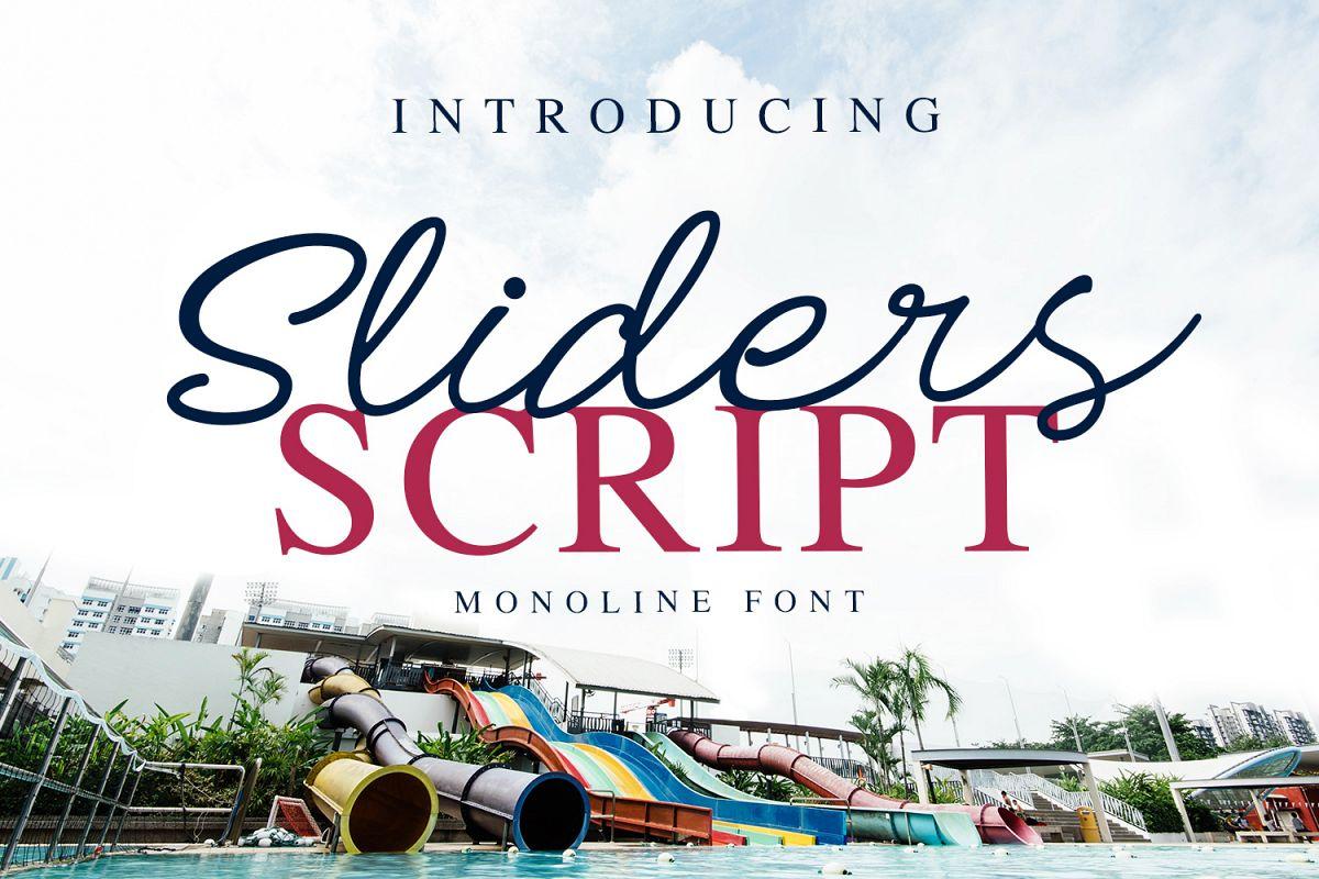 Sliders example image