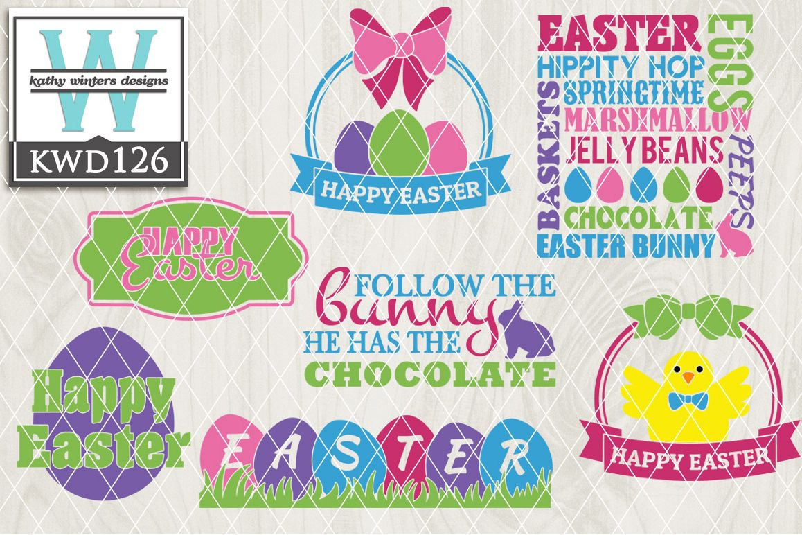 Easter Cutting File KWD126 example image