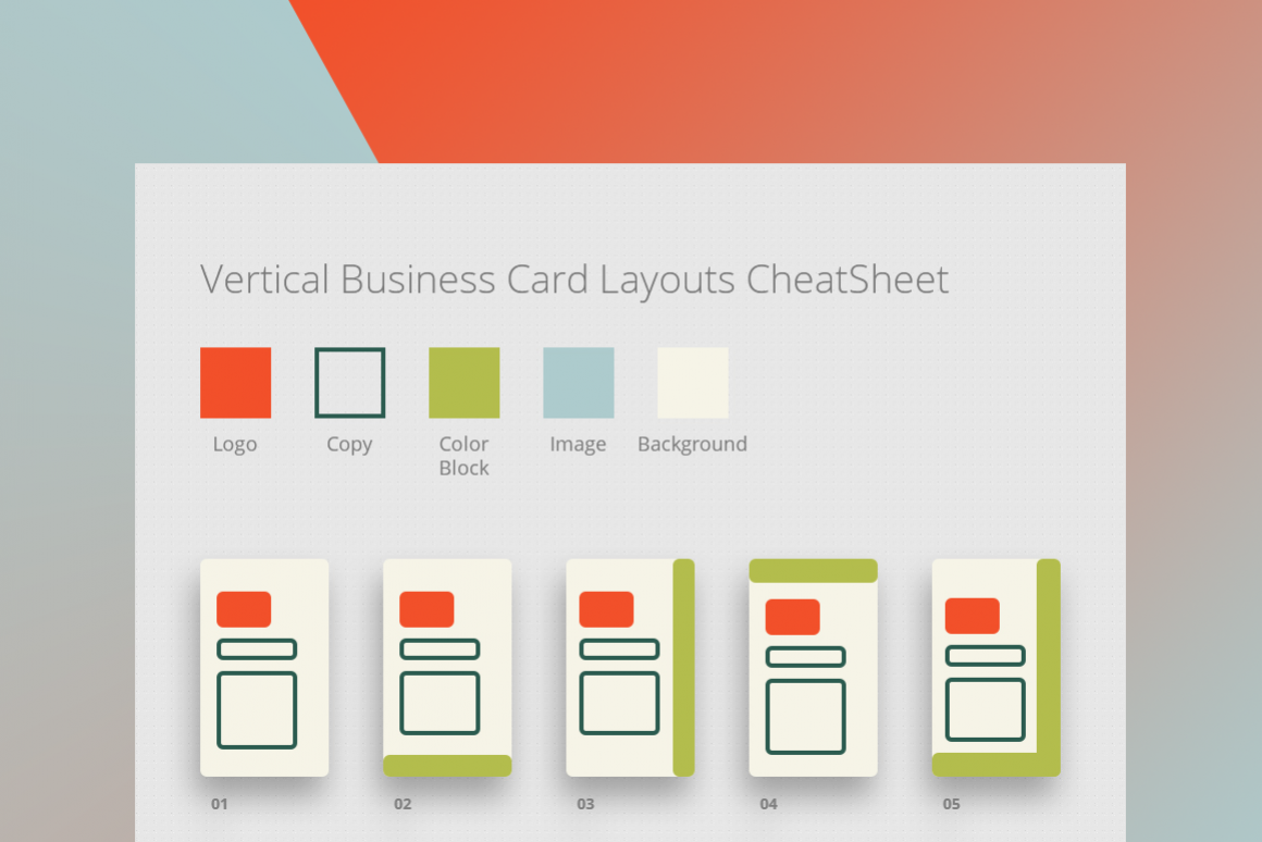 285 Business Card Layouts CheatSheet by | Design Bundles