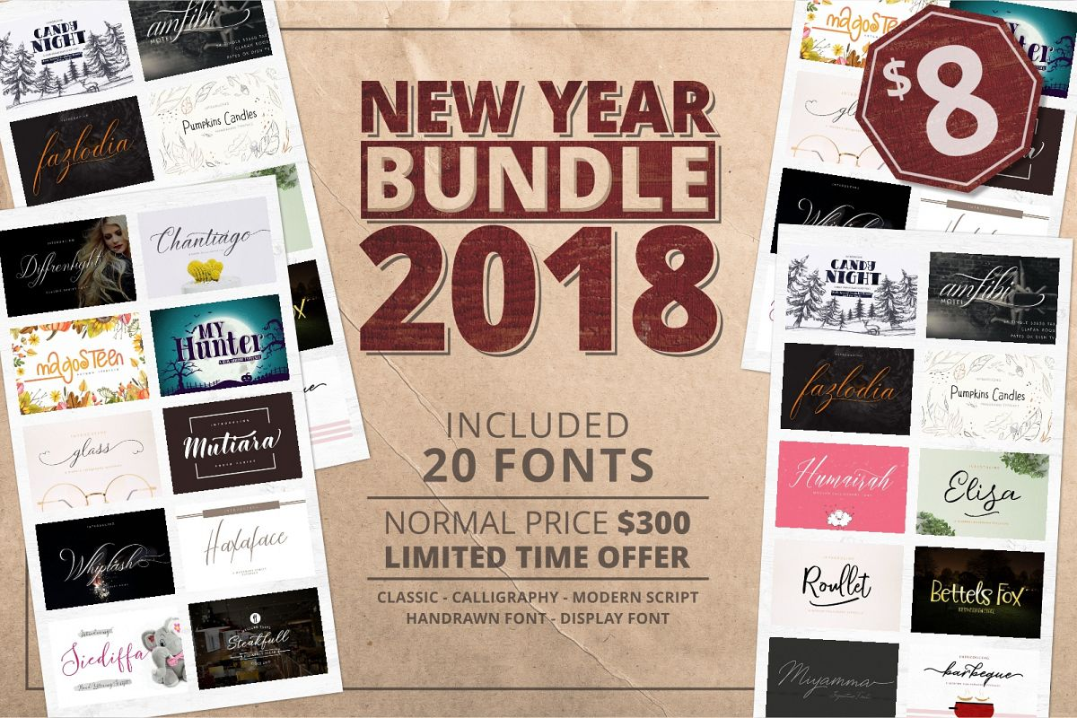 2018 New Bundle! Save 99% off the RRP example image