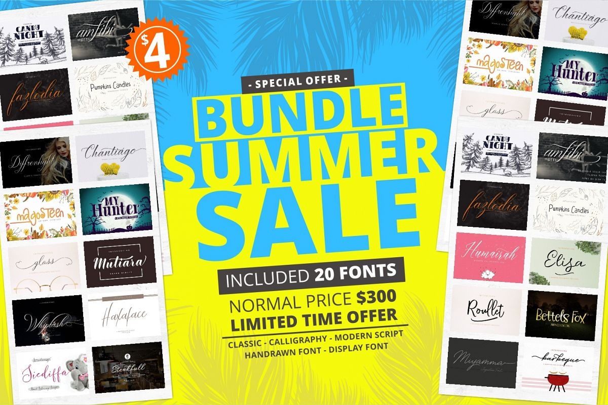 Bundle Summer Sale Save 99 off the RRP example image