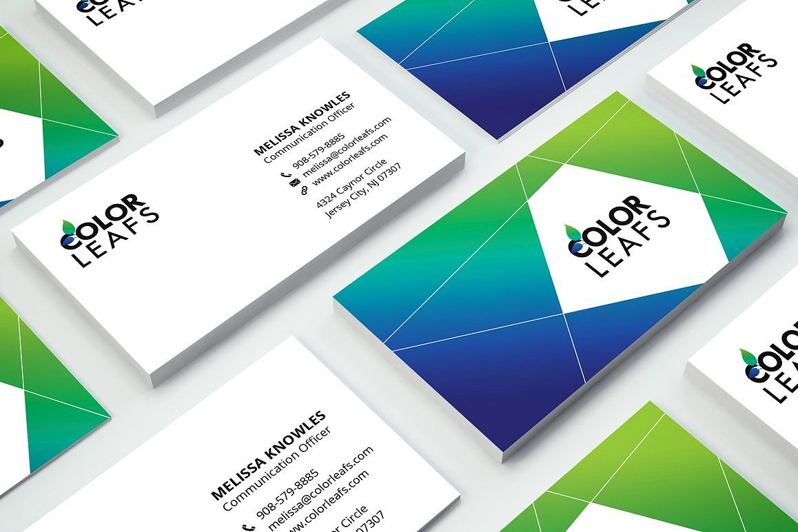 Modern corporate business card 2 by fan design bundles modern corporate business card 2 example image reheart Choice Image